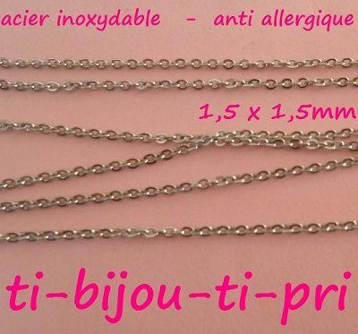 LOT de 6 BRACELETS CABLE ACIER INOXYDABLE 16cm PORTE CLE BIJOUX DE SAC PERLES